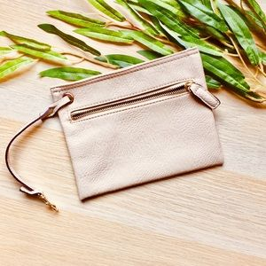 URBN Urban Outfitters Ivory Leather Purse Wallet